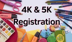 4K/5K STUDENT ENROLLMENT FOR 2021-2022
