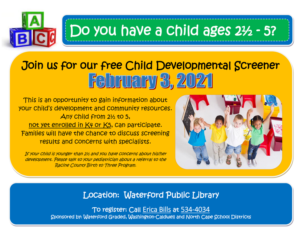 FREE Child Developmental Screening