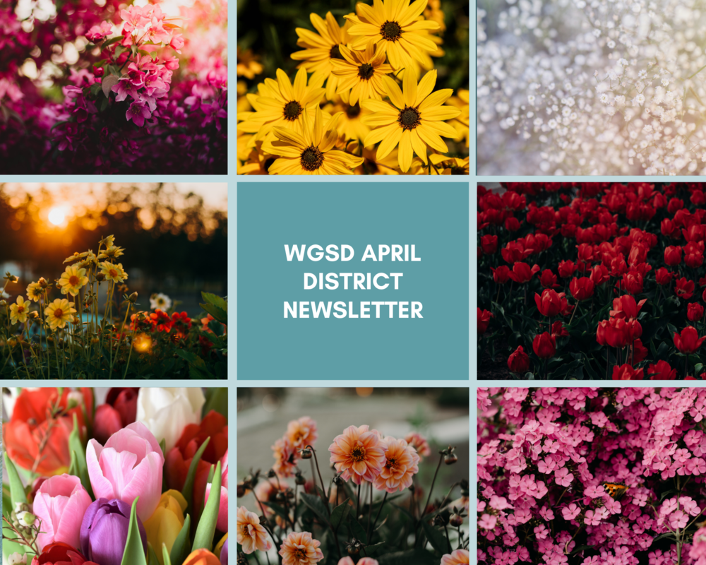 WGSD April District Newsletter