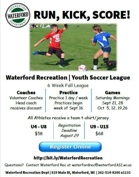Youth Fall Soccer League