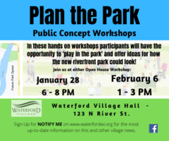 Plan the Park - Village of Waterford