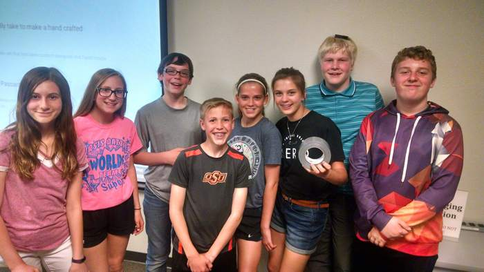 Thanks to a grant from the Wisconsin DPI, these students were able to spend the last 10 weeks practicing leadership skills as they collaborated in a project based learning experience.