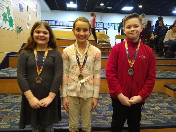 2018-19 District Spelling Bee Winners