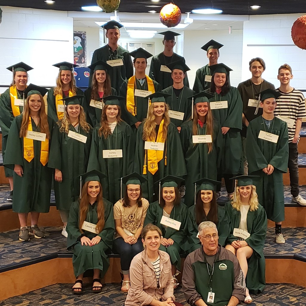 "Evergreen ""Seniors"" Class of 2019"