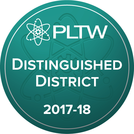 Waterford Graded School District, a 2017-18 PLTW Distinguished District. http://www.pltw.org/our-programs/program-recognition